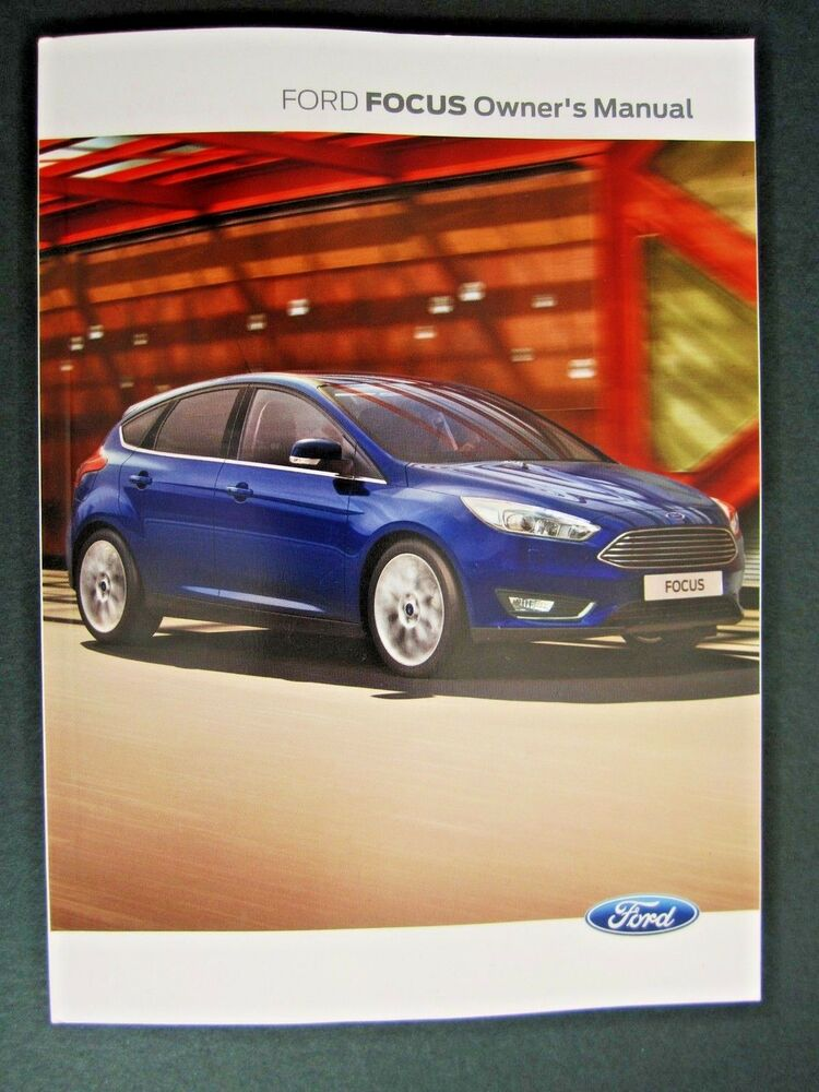 ford focus 2014 uk owners manual handbook all models ebay. Black Bedroom Furniture Sets. Home Design Ideas