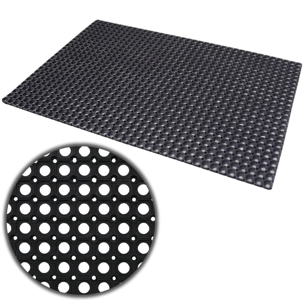RUBBER RING MAT HEAVY DUTY GARAGE STABLE PLAY AREA