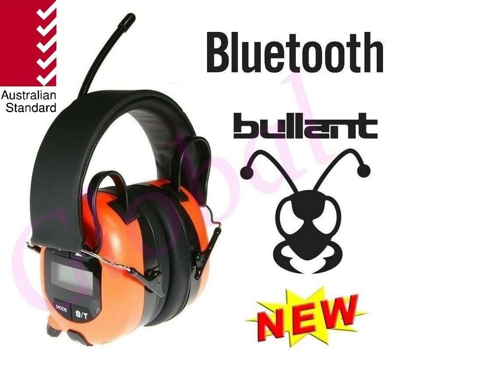 Multimedia AM/FM Radio Bluetooth Headphones Earmuffs