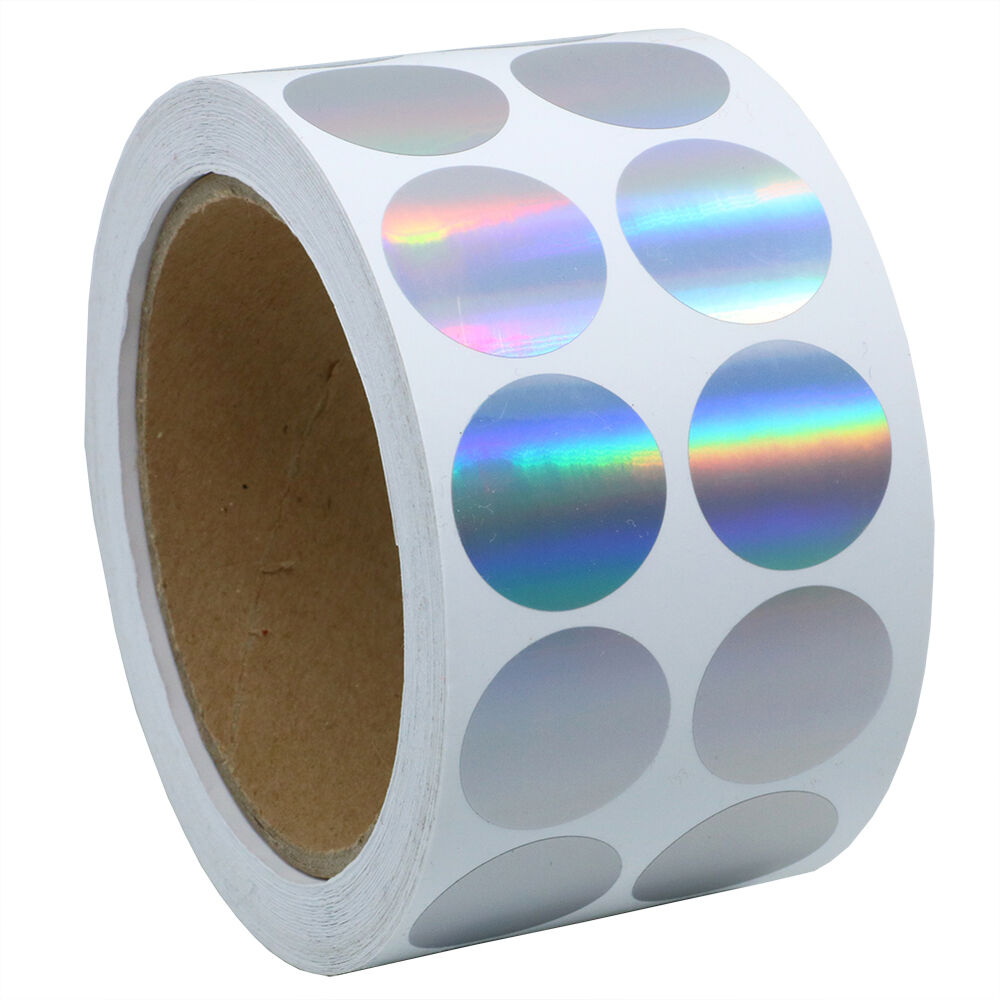 Silver Color Coding Dots   Tiny Holographic Round Dot ...