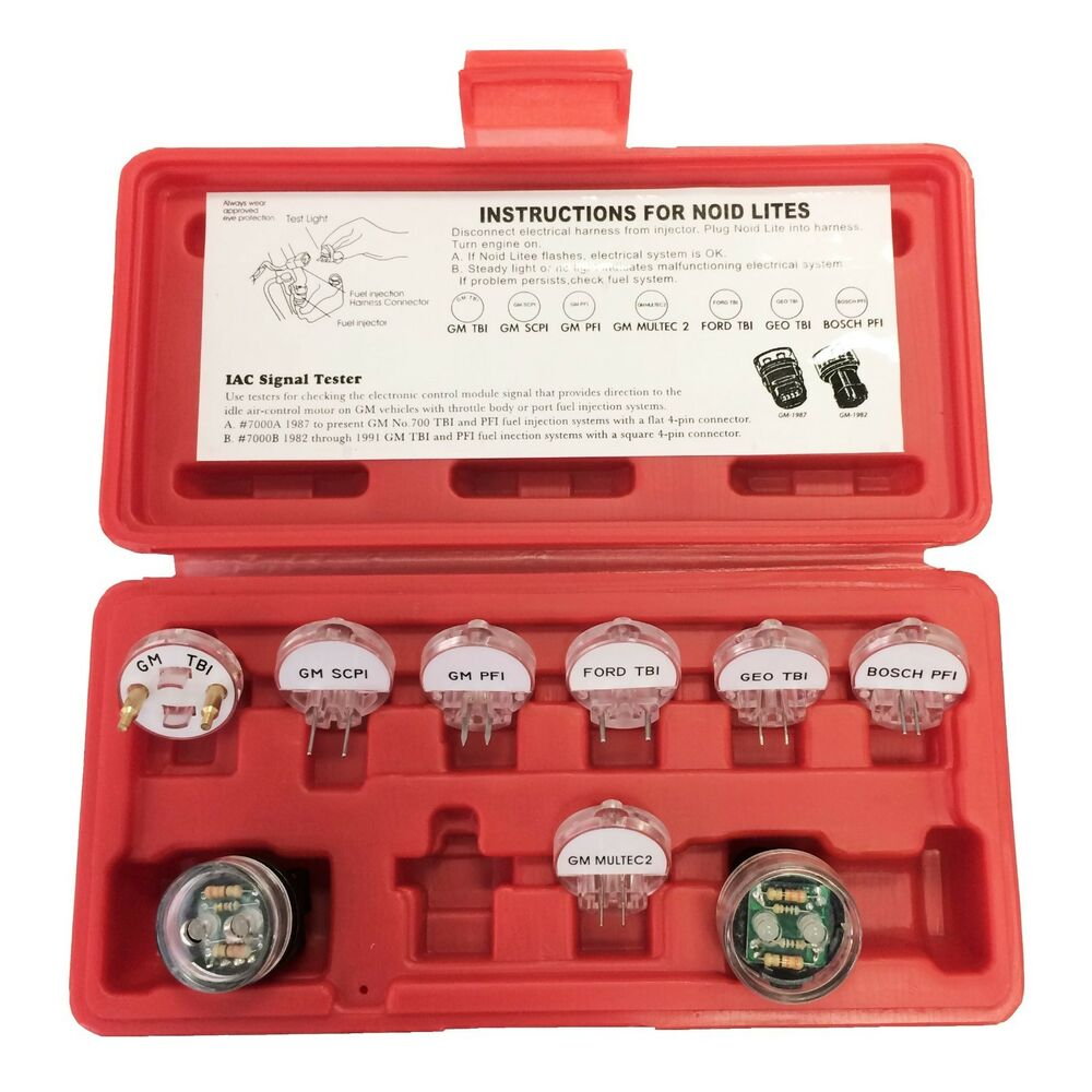 Signal Injector Kit : Pc electronic fuel injection signal noid lite tester