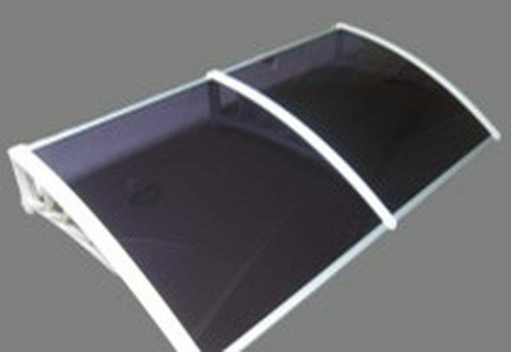 9ft x 39in door window awning 100 virgin material solid for Window material