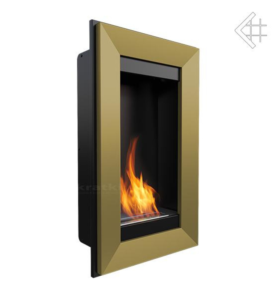 bio ethanol kamin charlie 2 gold wandkamin deko bioethanol. Black Bedroom Furniture Sets. Home Design Ideas