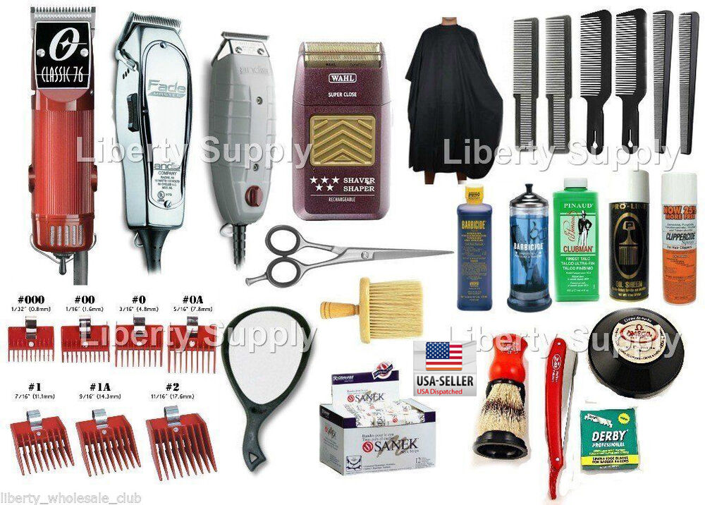 Barber Cosmetology School Professional Hairstylist Kit