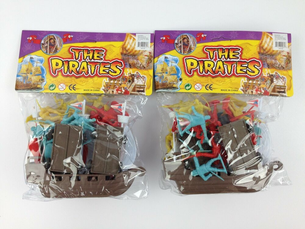 Toys And Treasures : Pirate toy pretend playset bundle boat ship treasure