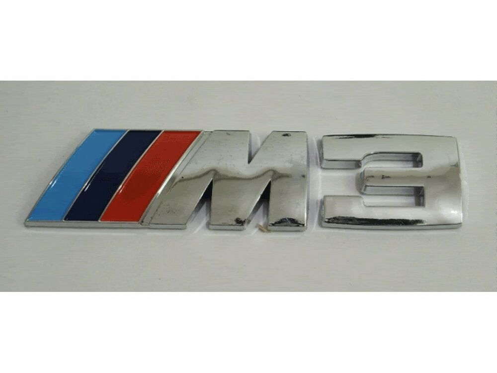 new logo car part for bmw m3 320 325 e36 e46 car emblem. Black Bedroom Furniture Sets. Home Design Ideas