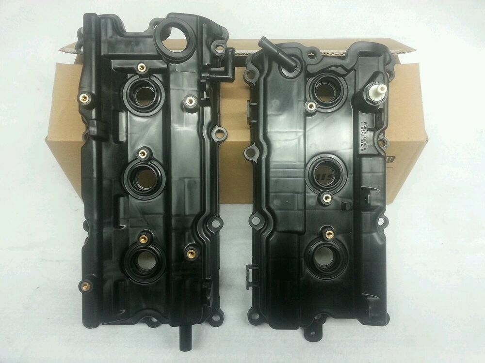 Genuine Oem Front And Rear Valve Covers Altima Maxima