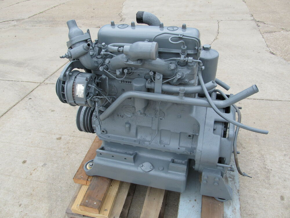 Ford 3 Cyl Diesel : Ford cylinder engine ebay  price