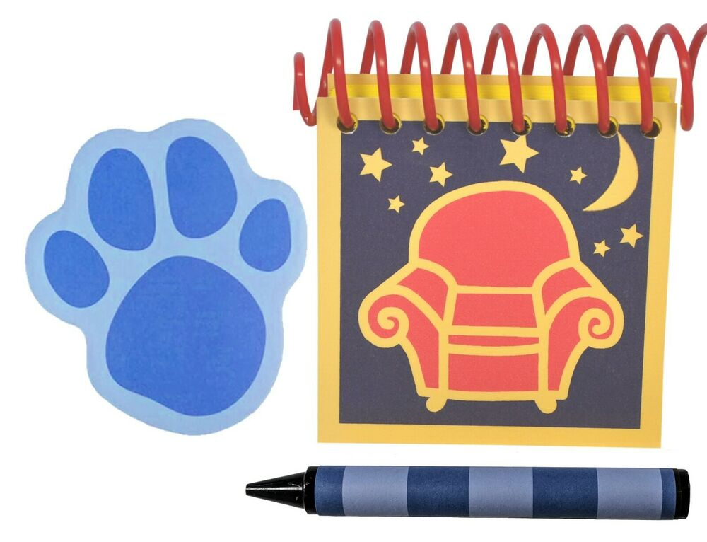 BLUE'S CLUES HANDY DANDY NIGHTTIME NOTEBOOK PACKAGE EXTRA ...