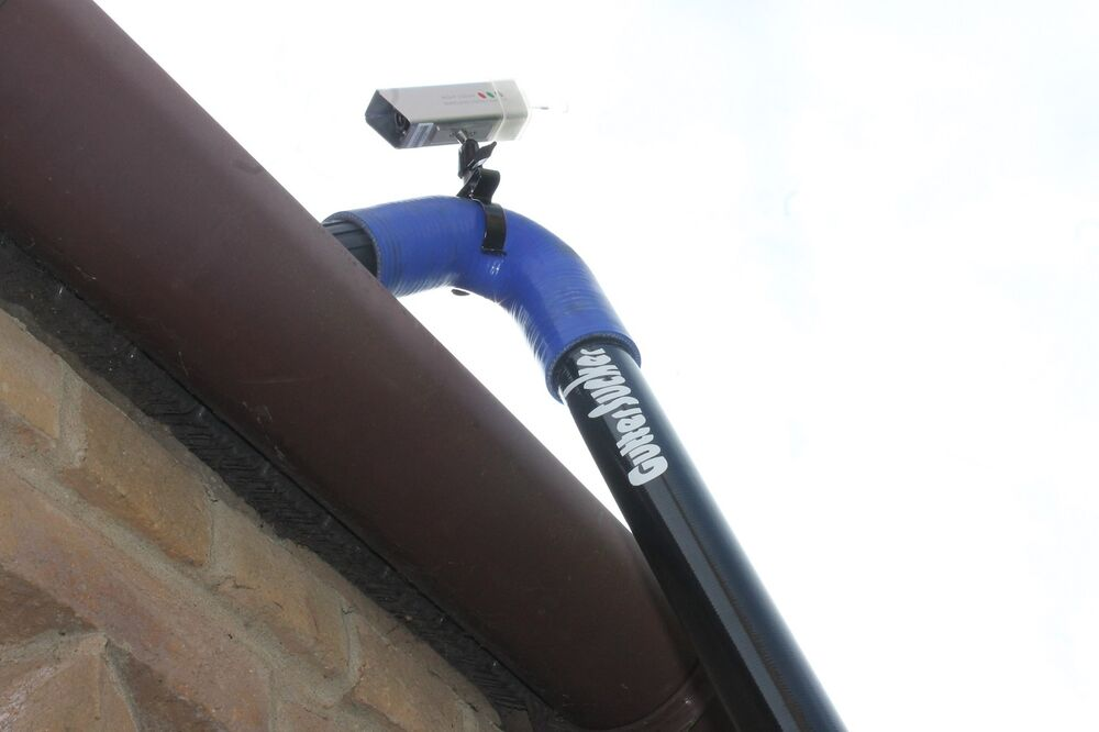 Gutter Cleaning Machine (Gutter Sucker) Inspection Camera ...