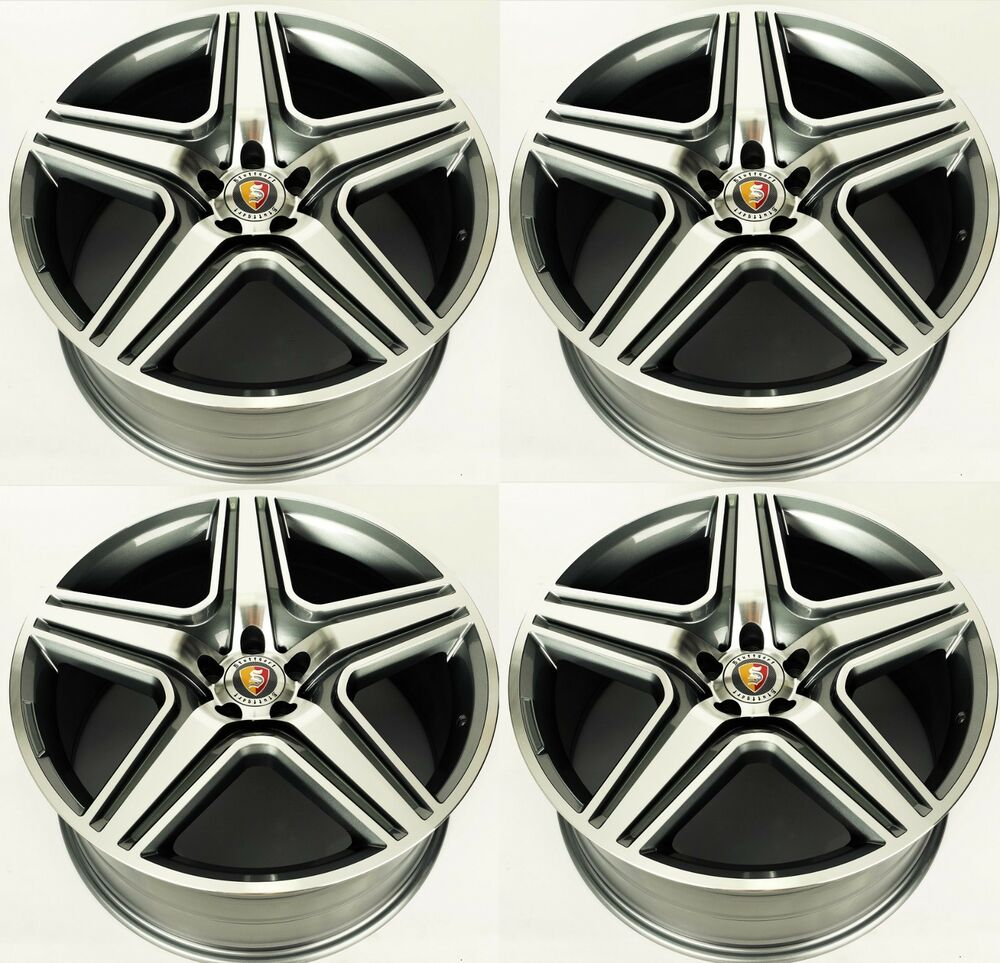 21 new mercedes benz ml63 amg style set of 4 wheels for Mercedes benz wheel