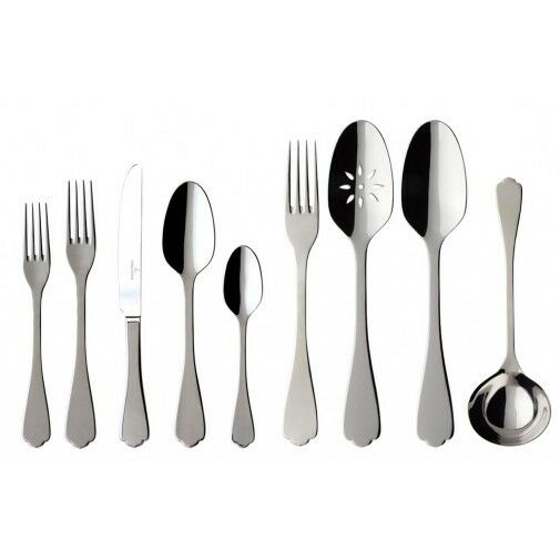 villeroy boch medina 64 piece flatware set ebay. Black Bedroom Furniture Sets. Home Design Ideas