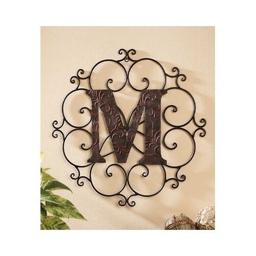 decorative letters for wall large metal letter wall decorative medallion alphabet 21332