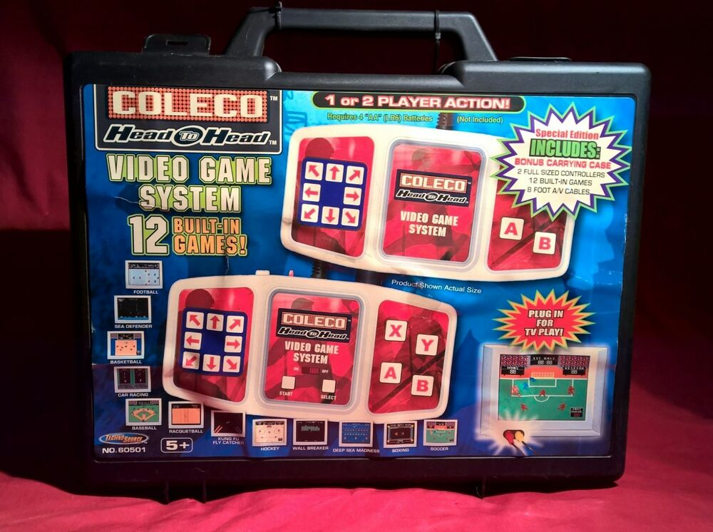 Tv Games Plug Into : New sealed coleco head to video game system games