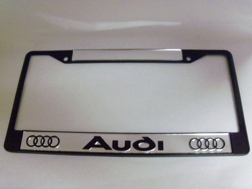 Audi License Plate Frame Brand New Ebay