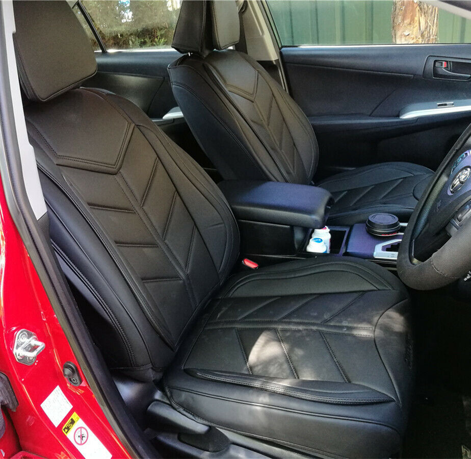 pure black car seat covers waterproof subaru impreza forester outback liberty ebay. Black Bedroom Furniture Sets. Home Design Ideas