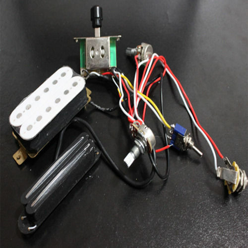 electric guitar wiring harness kit w humbucker twin coil pickup for sg tl lp new ebay. Black Bedroom Furniture Sets. Home Design Ideas