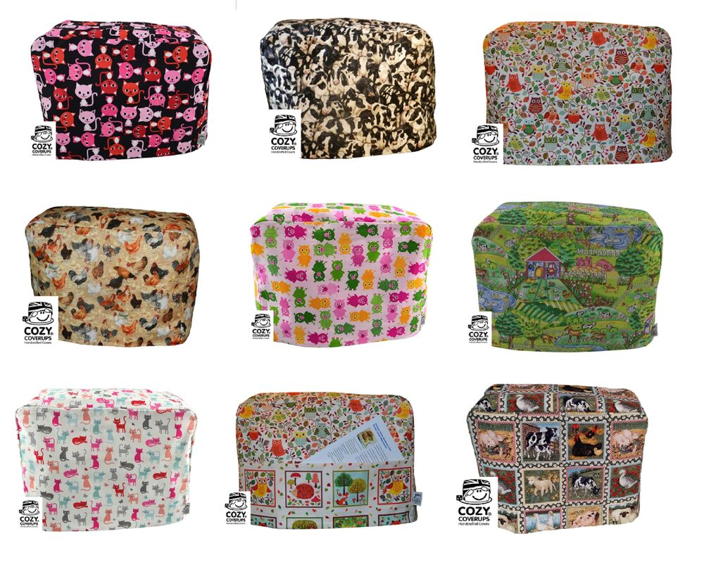 Cozycoverup 174 Cotton Food Stand Mixer Cover Animal Patterns