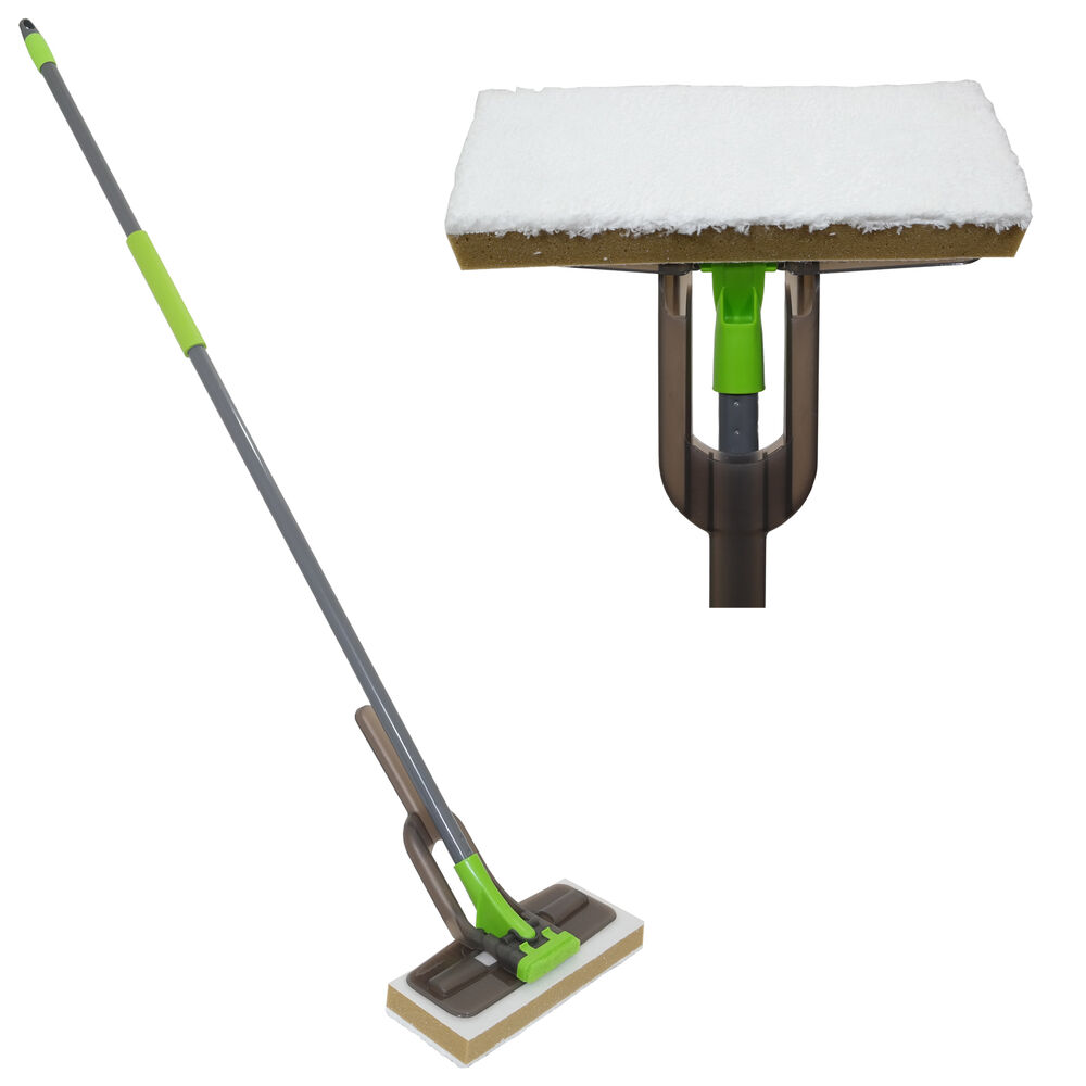 Microfibre Sponge Mop Floor Cleaner Sweeper Laminate Tiled