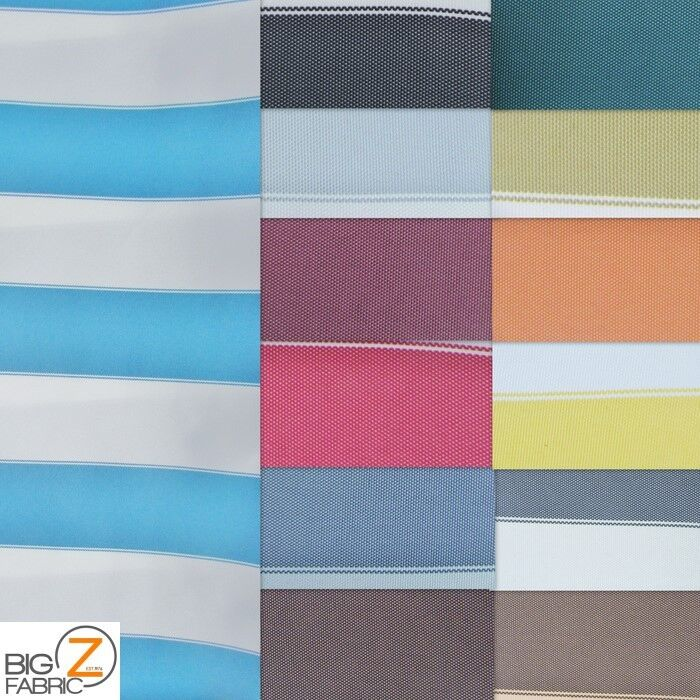 Awning Fabric By The Yard : Quot stripe deck outdoor fabric waterproof anti uv awning