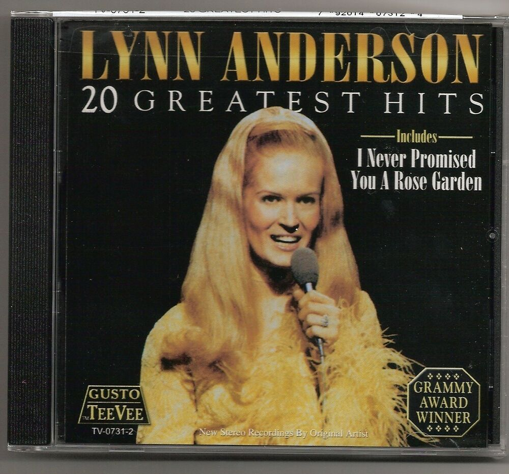 """LYNN ANDERSON, CD """"20 GREATEST HITS"""" NEW SEALED"""