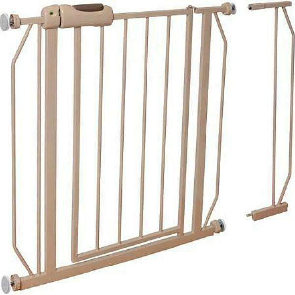 New Evenflo Easy Walk Thru Safety Metal Gate For Baby
