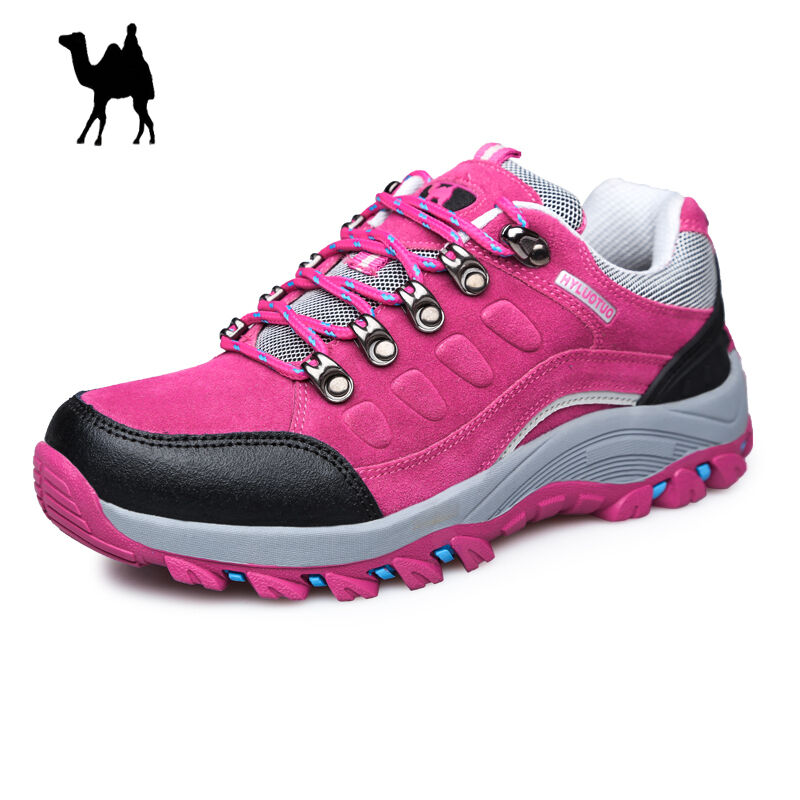 Womens Waterproof Leather Running Shoe