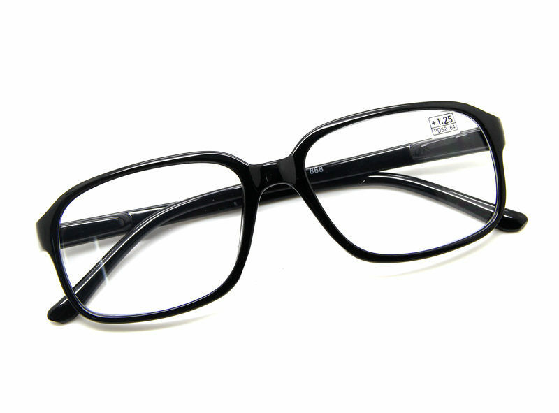 Reading Glasses Large Frame : Retro Bow Design Large Oversized Square Frame READING ...