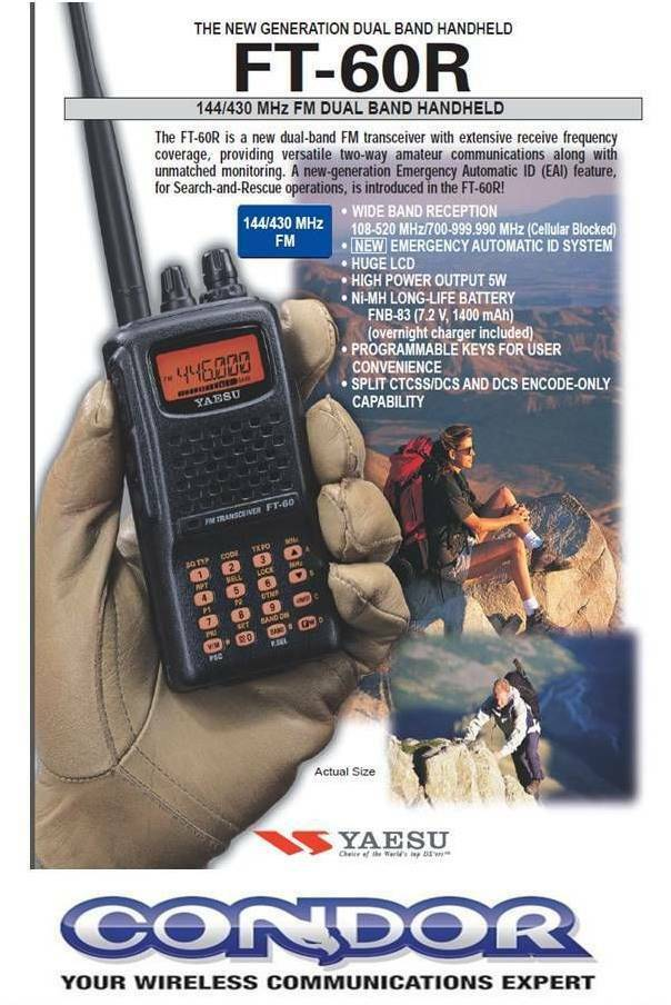 what is amateur transceiver handheld