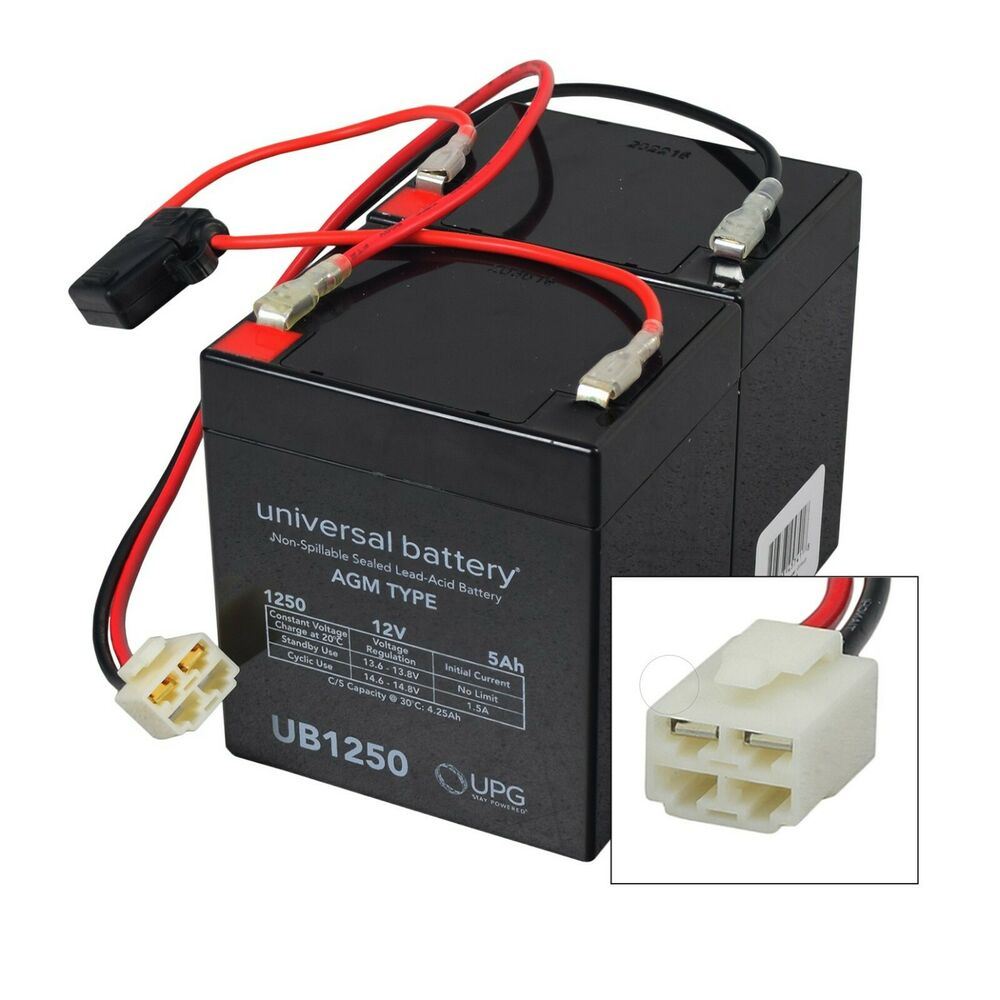 24 Volt Battery Pack for the Razor Crazy Cart (5 Ah, With ...
