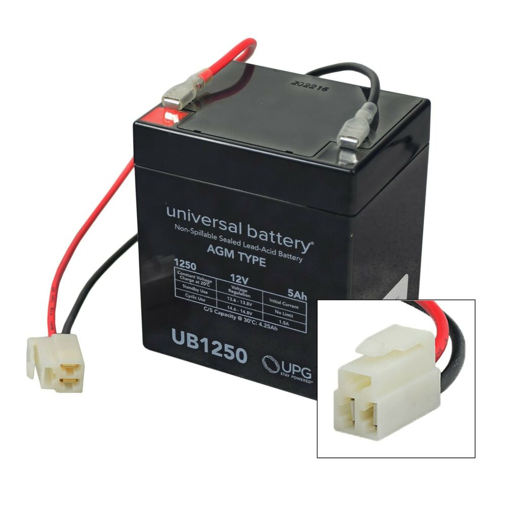 12 volt battery pack for the razor power rider 360 5 ah. Black Bedroom Furniture Sets. Home Design Ideas