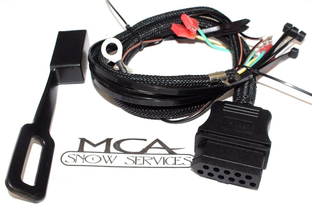 western fisher snow plow ultra mount 3 pin plow side wire harness 26359   cover ebay Fisher Minute Mount Wiring Harness Diagnotic 9-Pin J1939 Connector Pinout