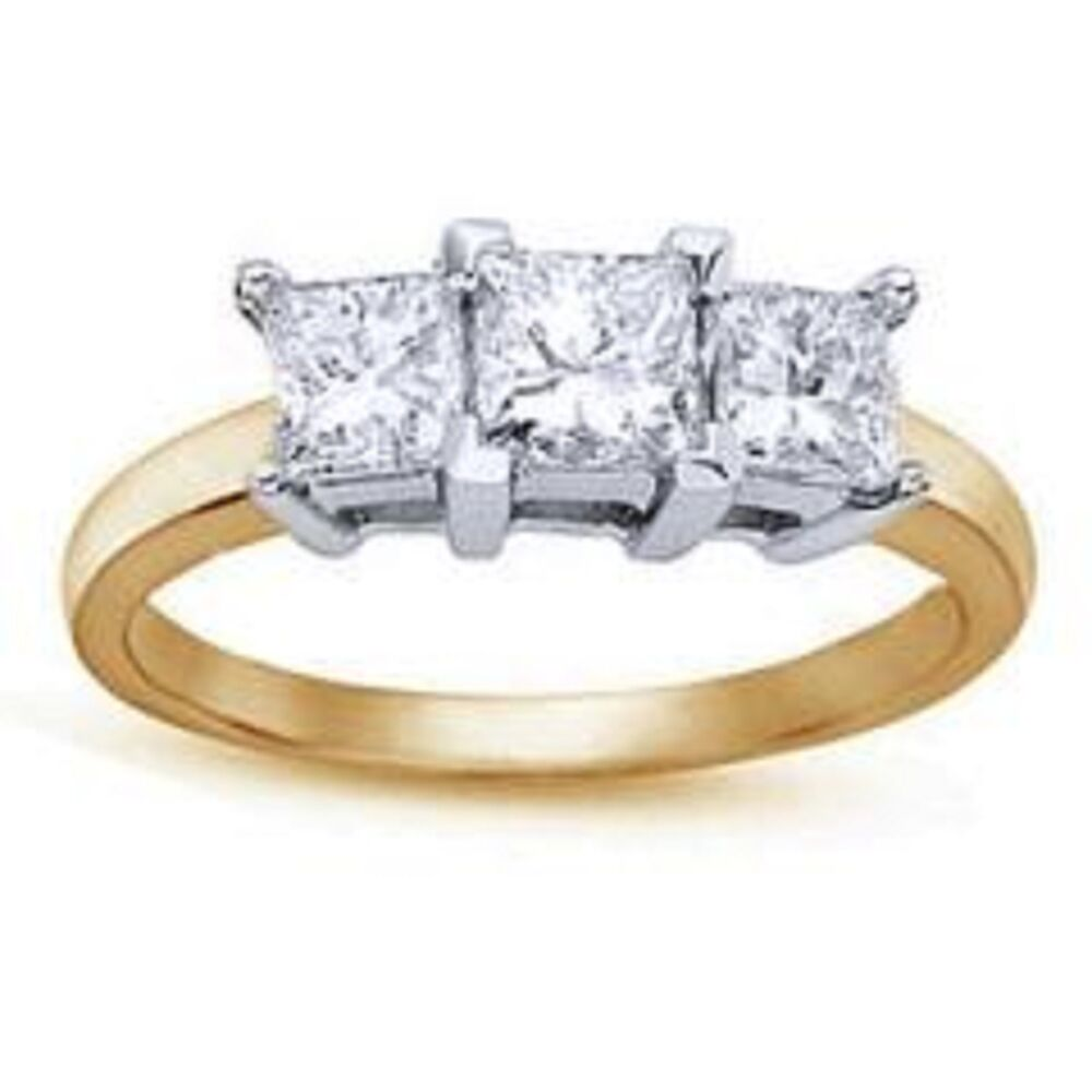 Diamond Rings Gold Ebay