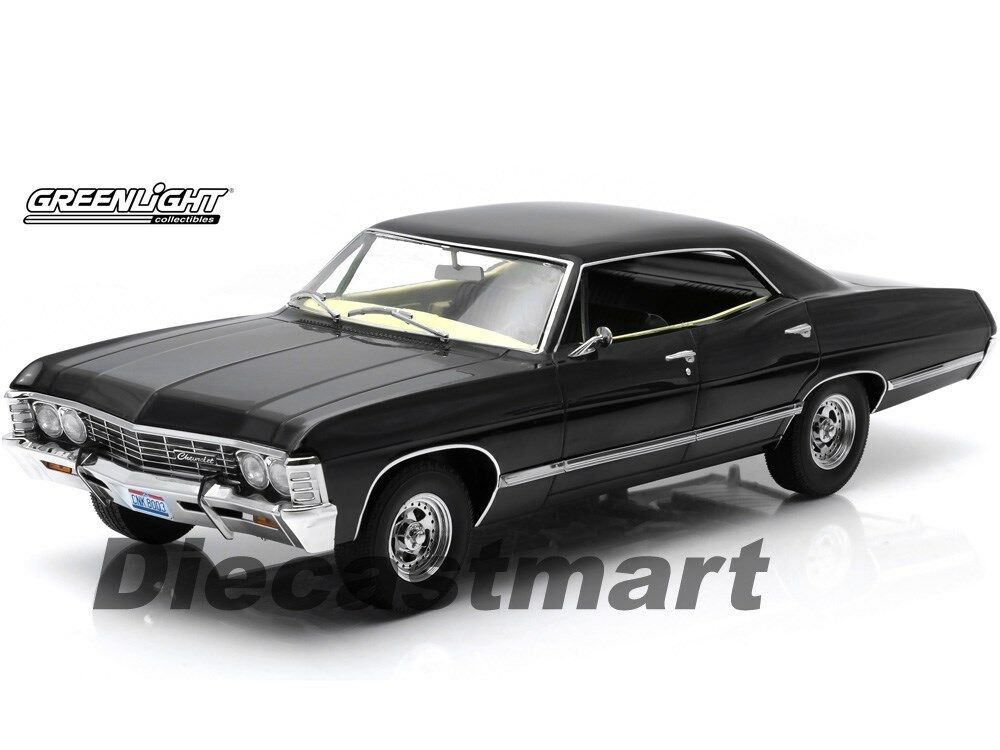 1967 chevrolet impala supernatural with ohio license plate. Black Bedroom Furniture Sets. Home Design Ideas