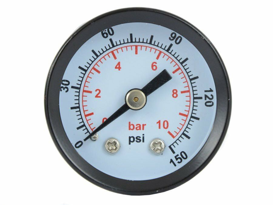 profi manometer 0 10 bar 1 4 ag 40mm druckmanometer vakummeter f r kompressor 5902553702101. Black Bedroom Furniture Sets. Home Design Ideas