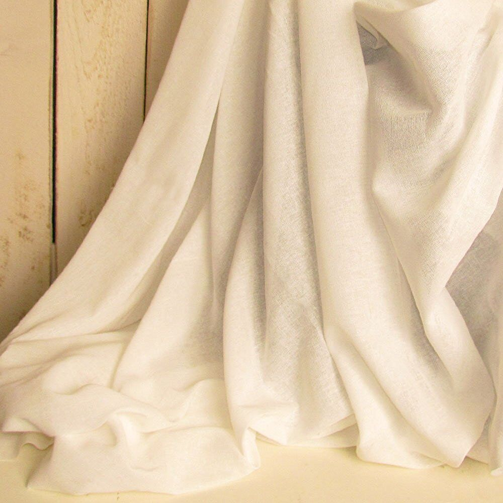 White cotton fabric by the yard tobacco cloth cream white for Fabric cloth material