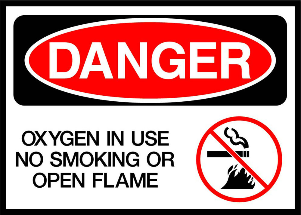 graphic about Oxygen in Use Sign Printable identified as Printable Oxygen Storage Indicators: Ninefold Presents Oxygen Toward