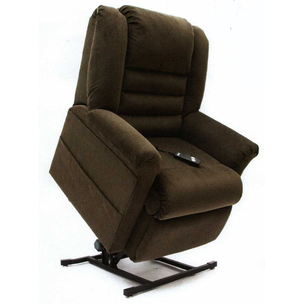 New Mega Motion Lc 400 Living Room Lift Chair Recliner Easy Comfort Lounge Java Ebay