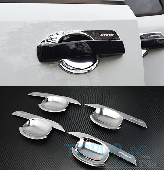 2014 Land Rover Lr2 Interior: FIT FOR FREELANDER 2 LR2 CHROME DOOR HANDLE BOWL COVER CUP