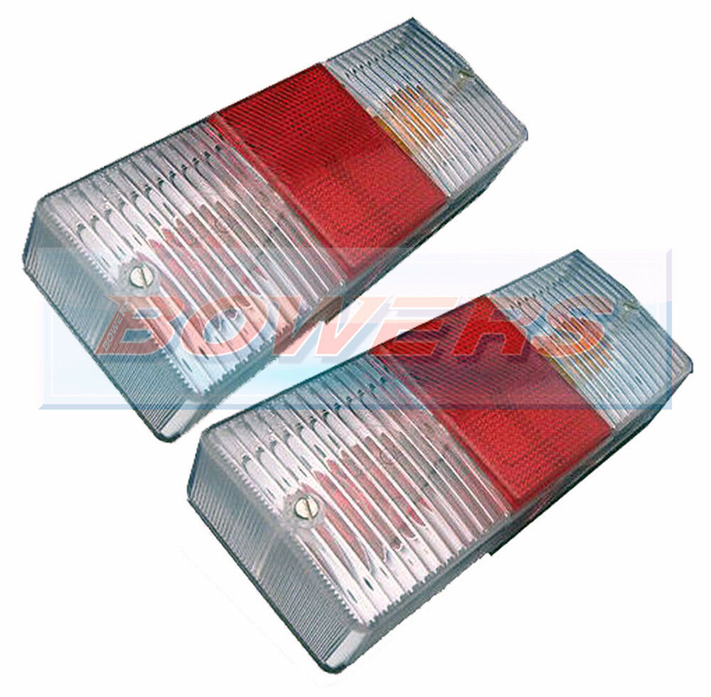 2x CATERHAM/WESTFIELD CLEAR LOOK REAR TAIL LAMP LIGHT