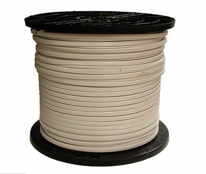 What Gauge Wire For 50 Amp >> 1000-Ft Roll 14-2 AWG NMB Gauge Indoor Electrical Copper ...
