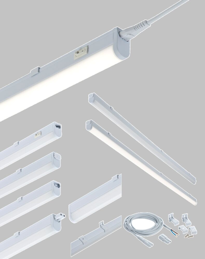LED Linkable Under Cabinet Shelf Lighting Cool White