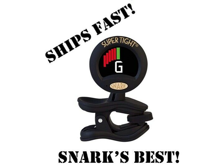 snark st 8 chromatic clip on tuner metronome for guitar bass all instruments ebay. Black Bedroom Furniture Sets. Home Design Ideas