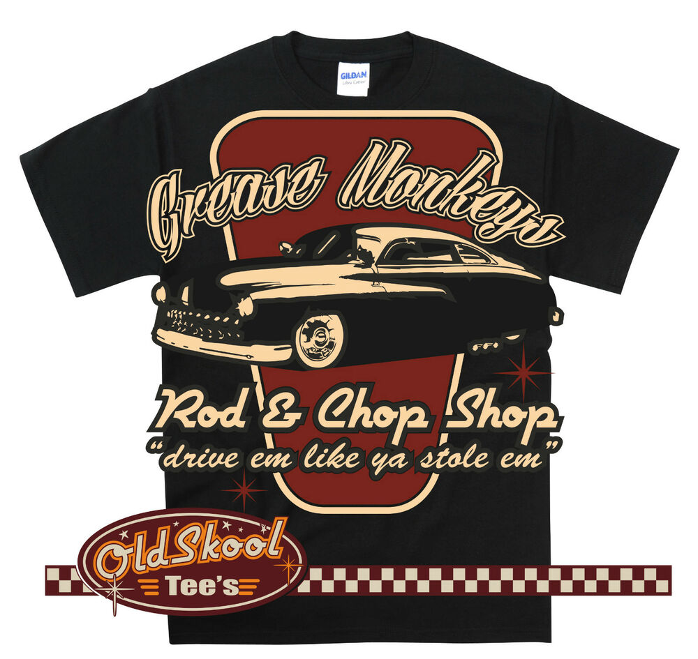Grease Monkeys Rockabilly Greaser Hot Rod Lead Sled