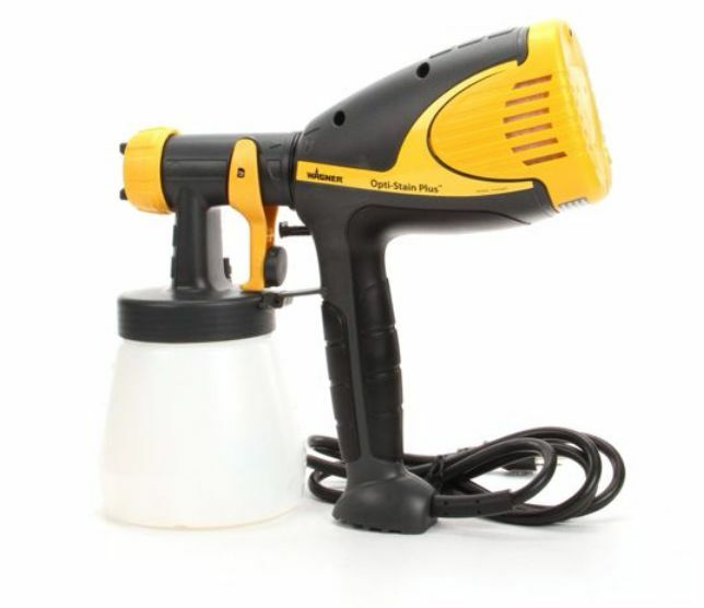 wagner opti stain plus low pressure hvlp handheld electric paint sprayer gun ebay. Black Bedroom Furniture Sets. Home Design Ideas