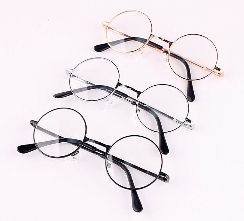 Retro Vintage Round Oval Metal Frame Reading Glasses Frame ...