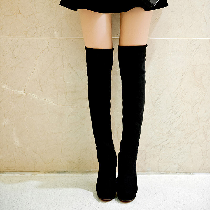 x us4 11 size knee high boots thigh high boots