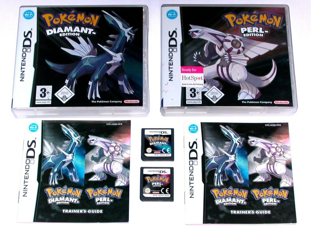 Ds spiele pokemon diamant pokemon perl wie neu ebay - Pokemon rare diamant ...