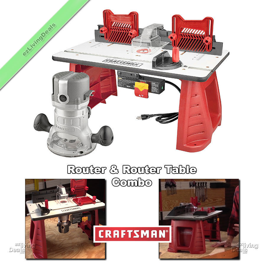 ... and Router Table Combo Portable Wood Lumber Woodworking Shop | eBay