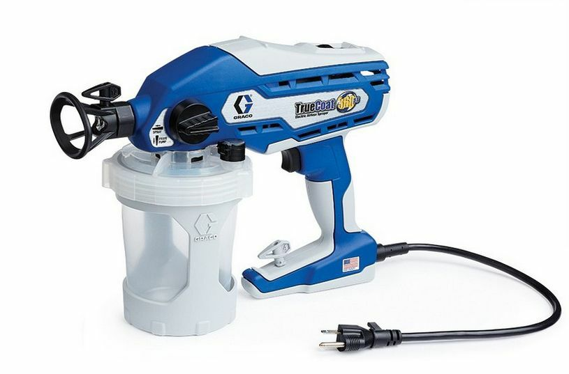 Quality Graco Truecoat 360ds Electric Airless Handheld